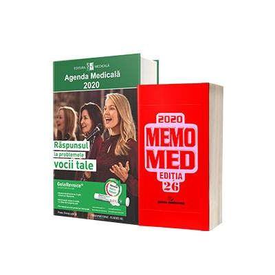 Pachetul Farmacistului - Agenda Medicala 2020 si MemoMed 2020