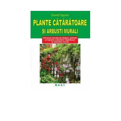 Plante cataratoare si arbusti murali - David Squire