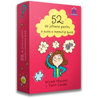 52 de jetoane pentru a avea o memorie buna - Nicole Masson