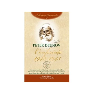 Conferinte 1942-1943. Volumul VIII - Peter Deunov